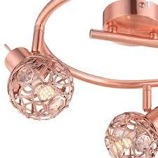 Esszimmer Lampe Design Design Led Decken Kugel Leuchte Kupfer Draht Geflecht Esszimmer