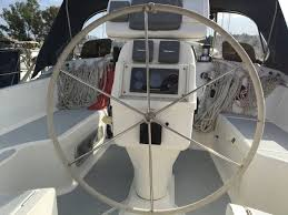 hunter legend 40 5 1995 cruising yacht for sale in gouvia marina