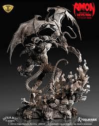devilman devilman vs amon elite exclusive u2013 figurama collectors