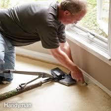 How To Pull Up Carpet From Hardwood Floors - tips for removing carpet family handyman