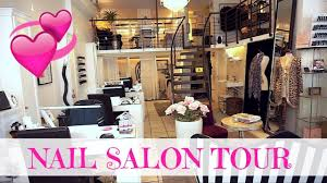 nail salon tour linda vista youtube