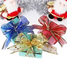 aliexpress com buy 10 yards 5cm snowflake ribbon bows christmas