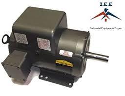 new baldor 5 hp 1 ph air compressor electric motor 184t fr 230v