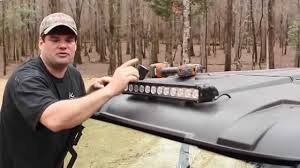 Led Light Bar Utv by Polaris Ranger Rzr Mavrick Viking 20 U0027 Led Bar Install Southern