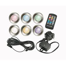 12 Volt Landscape Lighting Parts by Paradise Low Voltage Led Multi Color Deck Light Gl28103ss6
