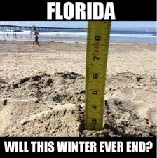 Florida Rain Meme - don t cry northerners memes of winter in florida weather