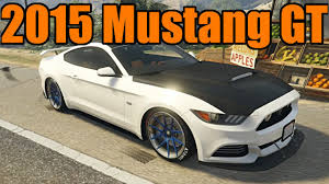 2013 ford mustang gt parts gta 5 mod spotlight 2015 ford mustang gt with custom parts