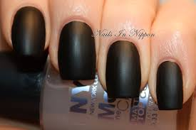 nails in nippon nyc matte me crazy top coat