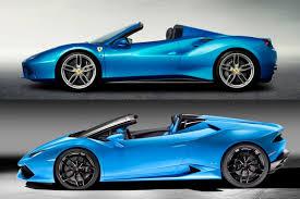 Lamborghini Huracan Coupe - huracan spyder vs ferrari 488 how do they stack up