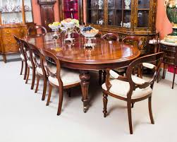 antique victorian dining table and ten chairs circa 1870 at 1stdibs