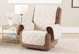 slipcover for recliner chair recliner slipcovers furniture covers surefit