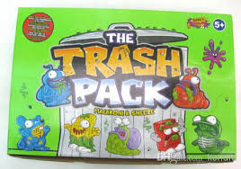 trash pack models mix trash rubber toys funny toys 1box