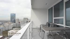 level furnished living in downtown los angeles two bedroom suite