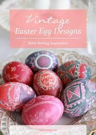 vintage easter egg designs rather luvly