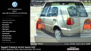 1997 volkswagen golf 4dr hb gl manual ca ny ma smart choice
