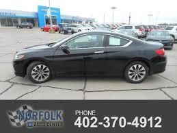 2 door black honda accord honda accord coupe 2 door in nebraska for sale used cars on