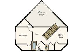 cottage floor plans with loft compact cabin floor plans efficient and engaging