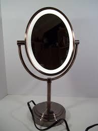 conair lighted vanity mirror conair 7x lighted makeup mirror bronze mirror designs