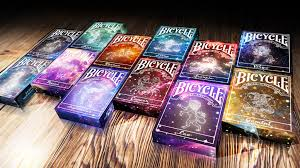 bicycle constellation collection cards gift artpoker by