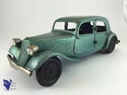 citroen siege social vintage toys citroen 1 10 tin traction sedan car 1936