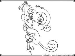 29 cute baby monkey coloring pages cute baby monkey coloring page
