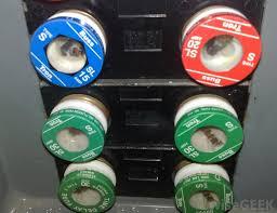 blown fuse in breaker box diagram wiring diagrams for diy car