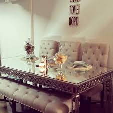 mirror dining room table stunning mirrored dining room furniture contemporary liltigertoo