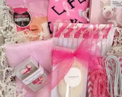 cancer gift baskets cancer gift basket etsy