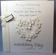 card for on wedding day wedding card design blossom cutout heart shape decoration