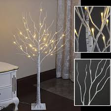 artificial birch trees with lights stock in us 2015 led artificial birch tree light 4ft 48leds in
