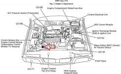 solved need to locate knock sensor on 1999 camry v6 whe fixya