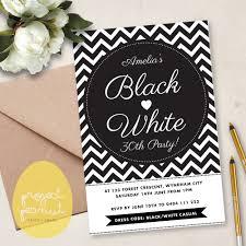 black and white invitations black and white birthday party invitations cloudinvitation