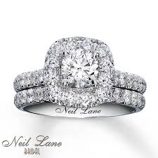 neil bridal set neil bridal set 1 7 8 ct tw diamonds 14k white gold
