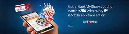 bookmyshow offer transaction bookmyshow offer icici bank