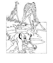lion king pictures color kids coloring
