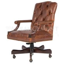 Tan Leather Office Chair Desk Chairs Rustic Western Furniture Store