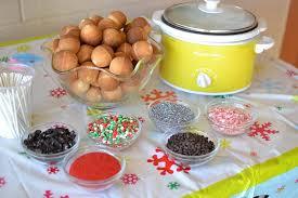cake pop fondue
