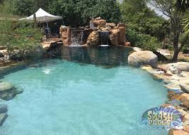 water feature ideas houston caytech pools custom naural freeform