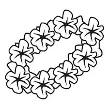 hawaiian flowers coloring pages with regard to comfortable cool