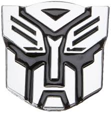 subaru emblem drawing amazon com autobot chrome finish pvc car auto emblem 2 5