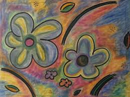 cubism flower painting cubism flowers 2 3 painting by lois picasso