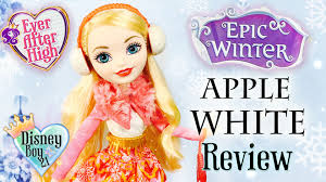 after high apple white doll after high epic winter apple white doll review