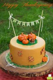 thanksgiving marshmallow fondant cake