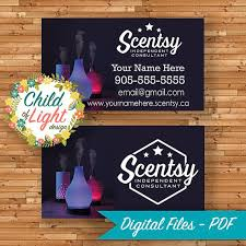 scentsy business cards template tags scentsy business cards best