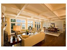 Open Floor Plans With Lots Of Windows Leather Sofa Wood Floors Barn Home Gambrel Roof House Sectional