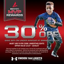 Flag Football League Bay Area Under The Lights Powered By Under Armour