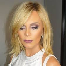 does kyle wear hair extensions tamra judge rocks new bob after years of long hair it s fresh