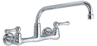 wall mount faucets kitchen standard 7292 152 002 heritage chrome wall mount faucet