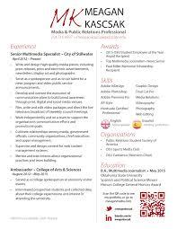 Resume Espanol Resume U2013 Meagan Kascsak