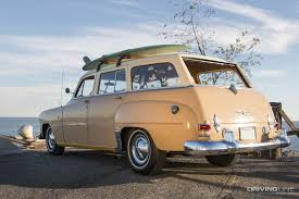 surf car head to the beach in this u002760s era surf wagon inspired by big